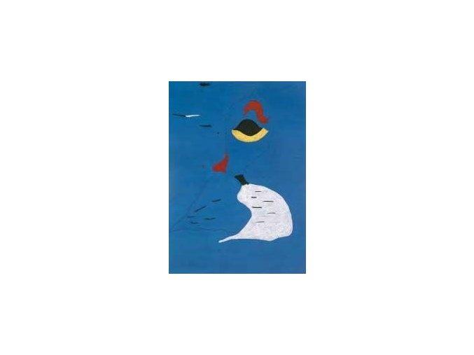Joan Miró:  Modrý motiv - Blue