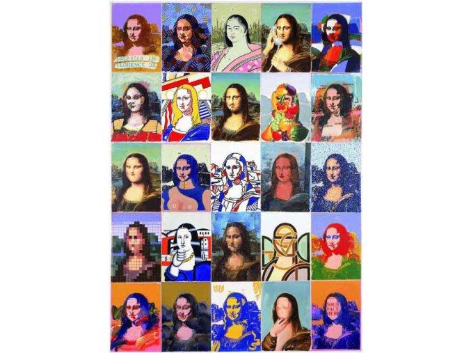 Giovanopoulos: Mona Lisa - Gold edice
