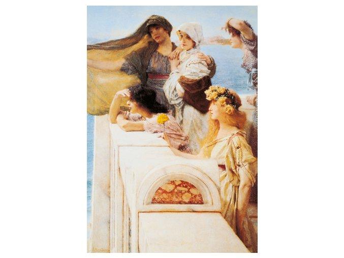 Alma Tadema: At Aphrodite´s Cradle