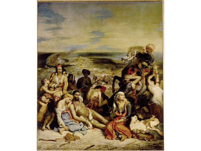 Delacroix Eugene: Massacre in Scio