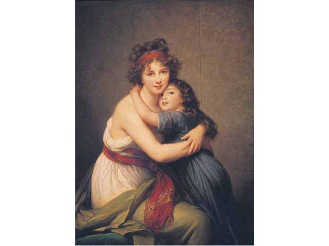 MMe Vigée Le Brun: Vigée Lebrun s dcerou, 1789