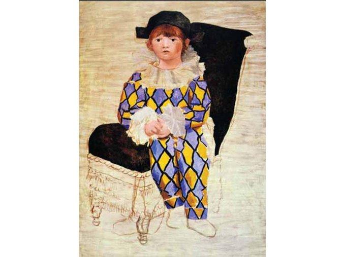 Picasso: Paul en Arlequin, 1924