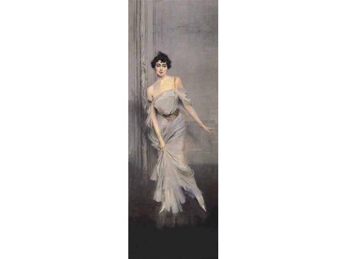 Boldini: Portrait de Madame Charles Max - vertikální