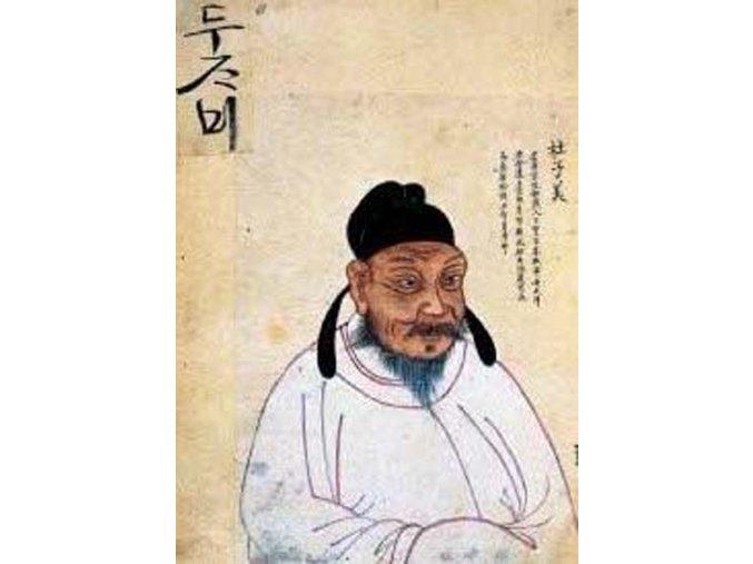 Chinese Art: Moudrý čínský muž (The wise chinese man)