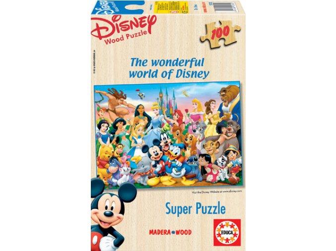 Báječný svět Walta Disneye - dřevěné