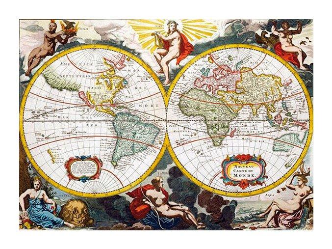 Antická mapa - HQC