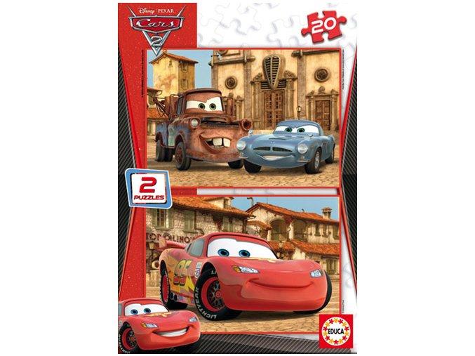 Walt Disney: Cars 2 - 2 x 20 dílků
