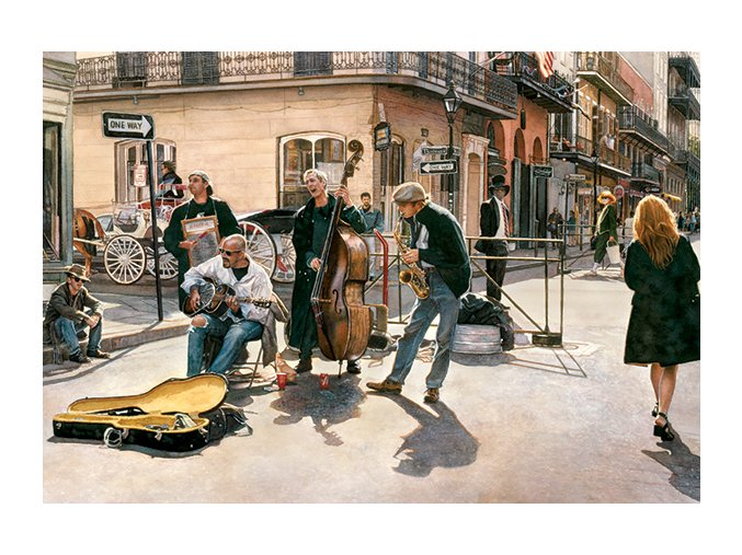 Ulice v New Orleans, USA