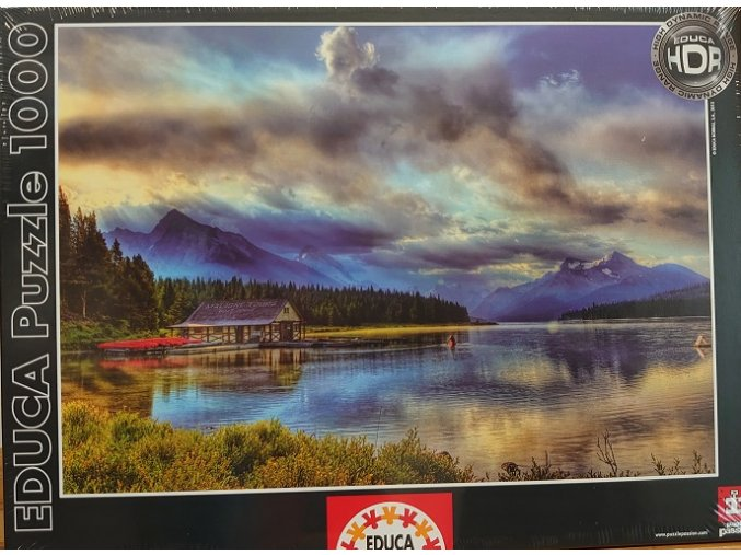 Kanada - Jezero Maligne