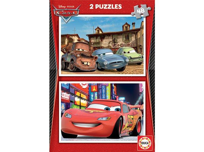 Walt Disney: Cars 2 - 2 x 48 dílků