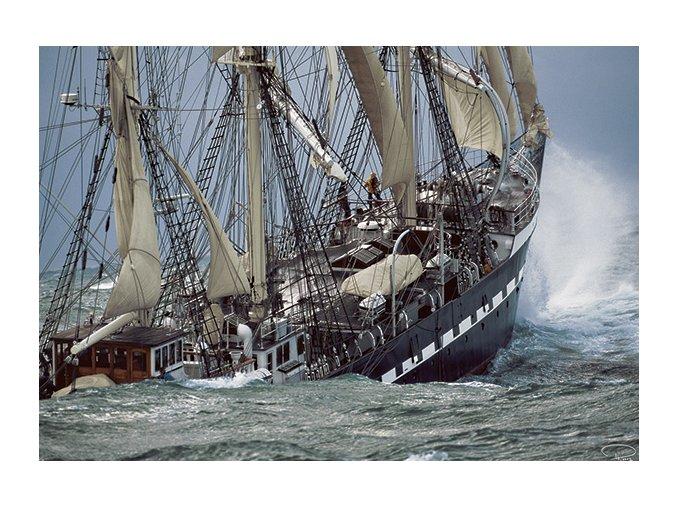 Philip Plisson: Belem - Poslední francouzská plachetnice