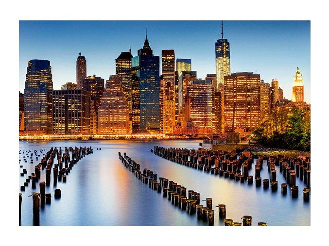 Město mrakodrapů - New York