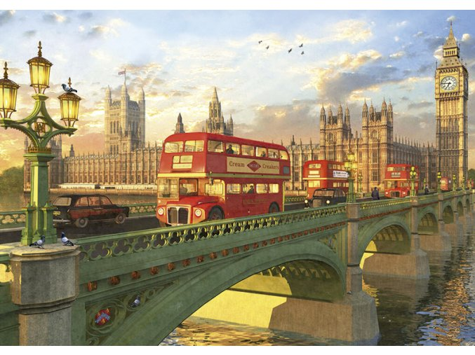 Westminsterský most, Londýn