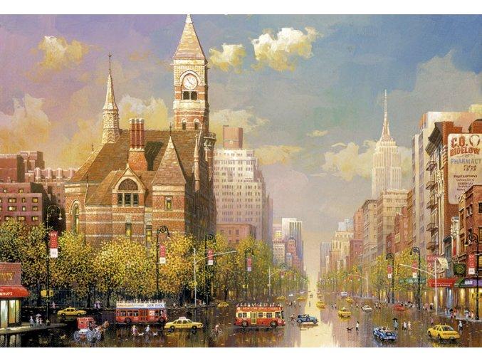 Alexander Chen: Odpoledne v New Yorku