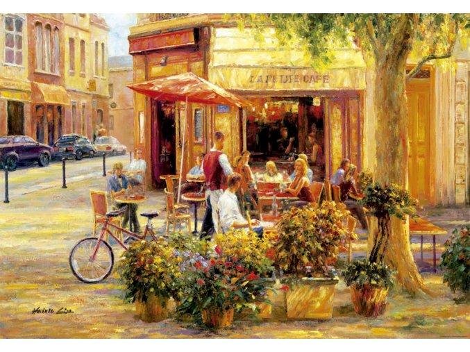 Kavárna na rohu - Haixia Liu