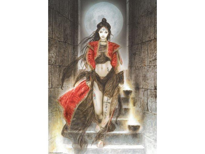 Luis Royo: Dead Moon - Schody (Stairs)