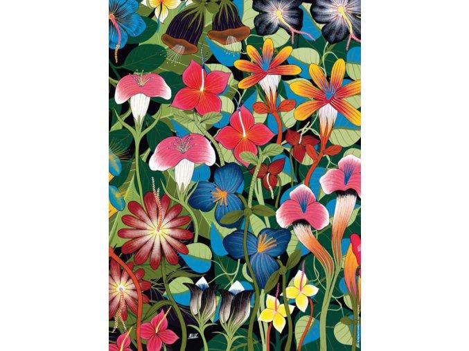 Tinga Tinga - Květiny (Flowers)