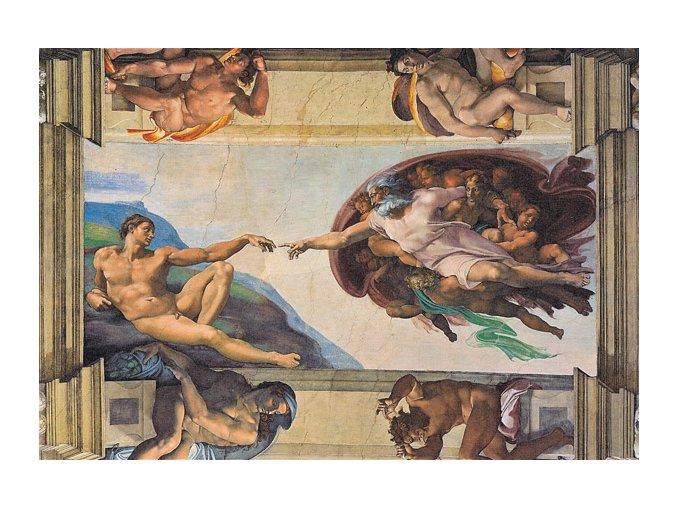 Michelangelo: Zrození Adama