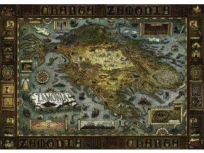 Walter Moers: Mapa Zamonie (Map of Zamonia)