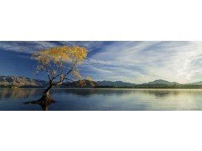 Alexander von Humboldt: Jezero Wanaka (Lake Wanaka) - panorama