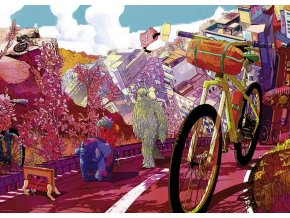 Bike Art, Tour in Pink