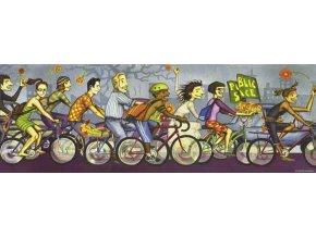 Bike Art: Kritická masa (Critical Mass) - panorama