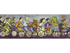 Bike Art: Kritická masa (Critical Mass) - panorama