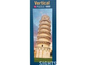 Šikmá věž v Pise (Sights - Tower of Pisa) - vertikální - bez fólie