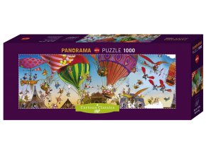 Loup: Ballooning - panorama
