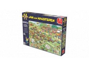 Jan van Haasteren: Závod sekaček (Lawn Mower Race)