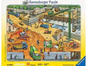 Na stavbě - deskové v rámečku