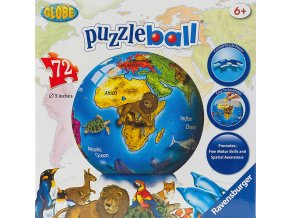 Globus - 3D puzzleball  72 dílků