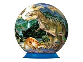 Dinosauři - 3D puzzleball  72 dílků