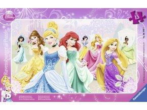 Walt Disney: Princezny - deskové v rámečku