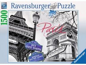 Paříž - Eiffelova věž, Vítězný oblouk