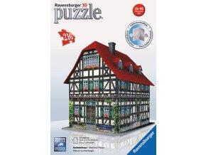Středověký dům 3D - 216 dílků