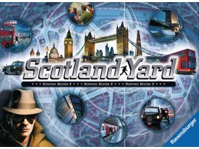 Scotland Yard - hra pro hráče od 8 let