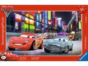 Cars: Závod v Japonsku - deskové v rámečku