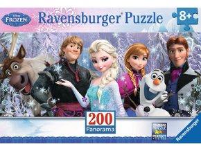 Walt Disney - Frozen: Ledové království - panorama