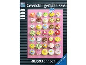 Půvabné košíčky - puzzle s lesklým efektem (Pretty Cupcakes)