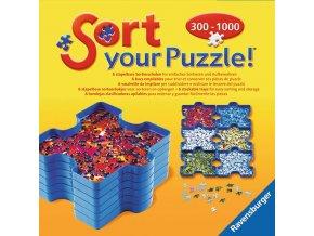 Sorter na puzzle - 6 krabiček