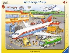 Letiště - deskové v rámečku