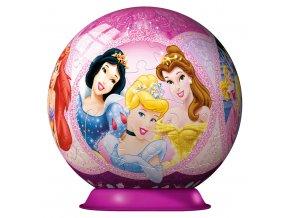 Walt Disney: Princezny - 3D puzzleball - 108 dílků