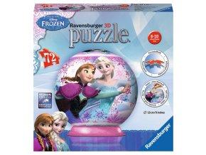 Walt Disney: Frozen - 3D puzzleball 72 dílků