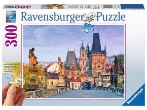Praha - Karlův most - puzzle se 300 většimi dílky