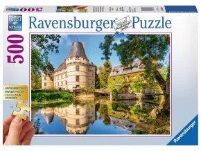 Francie - Zámek (Chateau de I´Islette) - Gold edition - puzzle s většími dílky