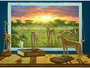 Bo Newell: Gepardi - Cheetahs - oživlé obrazy - HQC