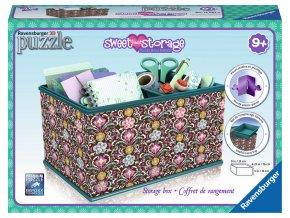 Girly Girl - Skladovací box Mary - 3D