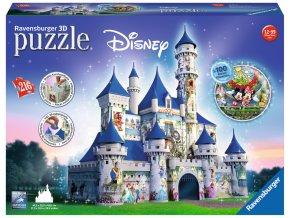 Walt Disney - Zámek se 100 Disney postavami - 3D