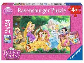 Walt Disney: Nejlepší přátelé princezen - 2 x 24 dílky